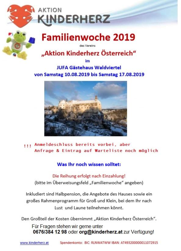 Familienwoche 2019