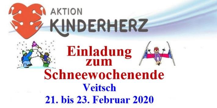 Schneewochenende in Veitsch 21.-23-Februar 2020